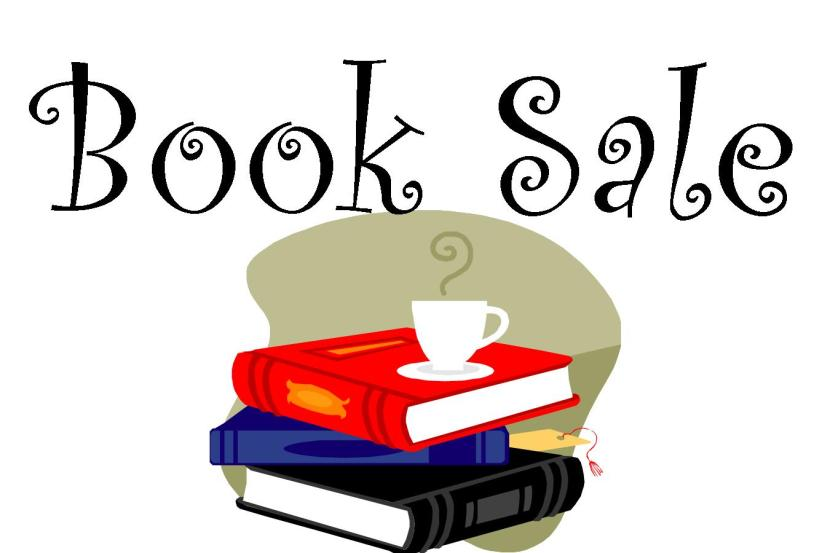 Used Books, Bake sale, chilli lunch, New French books…
