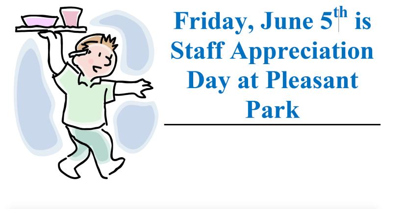 Staff Appreciation Lunch